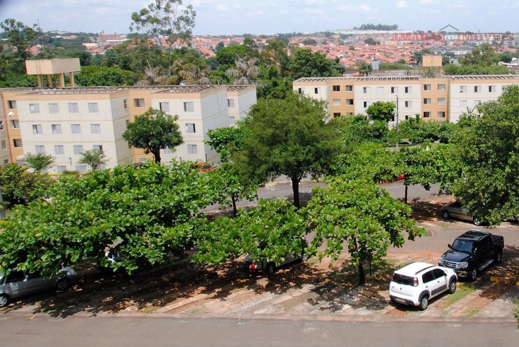 Apartamento residencial à venda, Jardim Pacaembu, Campinas.