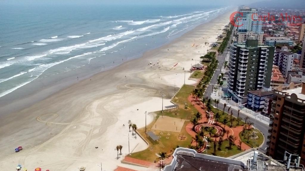 lindo apartamento alto padrão frente para o mar na vila caiçara em praia grande sp com...