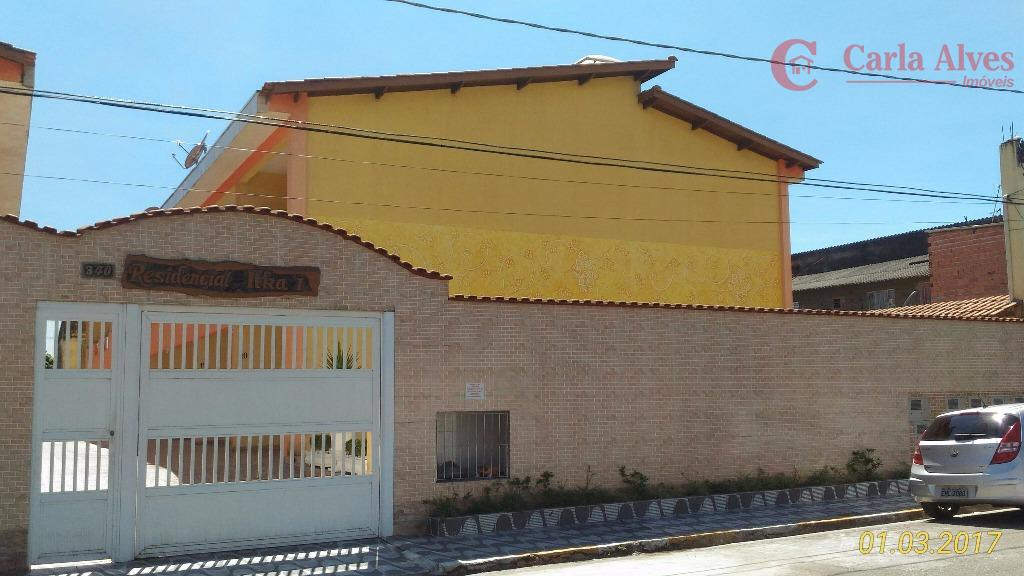 Sobrado em Condomínio Fechado, 01 vaga, NOVO, Praia Grande, São Paulo