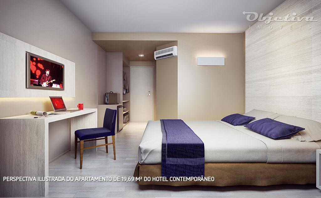 hotel contemporâneodesign e economia a serviço do seu investimento.totalmente integrado às demais áreas do complexo, o...