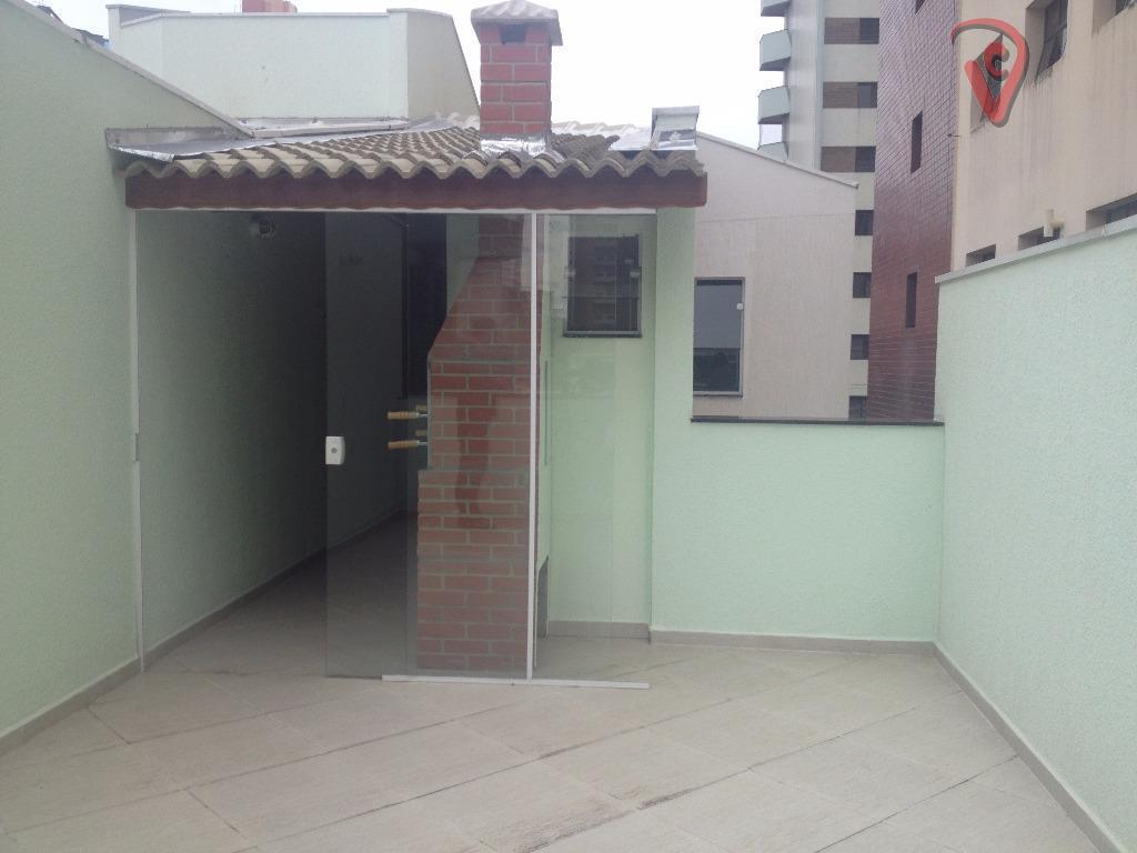 Cobertura residencial à venda, Vila Bastos, Santo André - CO0073.