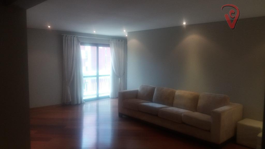 Apartamento residencial à venda, Vila Bastos, Santo André - AP0594.