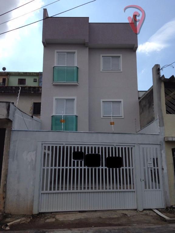 Apartamento residencial à venda, Vila Eldízia, Santo André - AP0755.