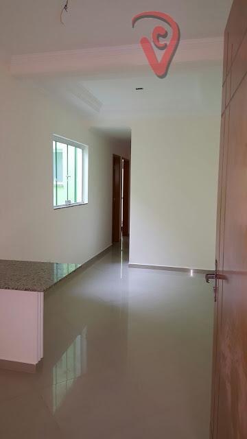 Apartamento com 2 dormitórios à venda, 56 m² por R$ 270.000 - Parque das Nações - Santo André/SP