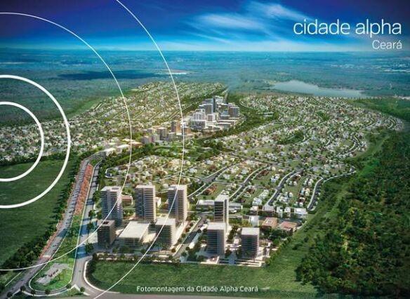 Terreno à venda   Condomínio Alphaville Ceará   Cidade Alpha   Eusébio (CE) -