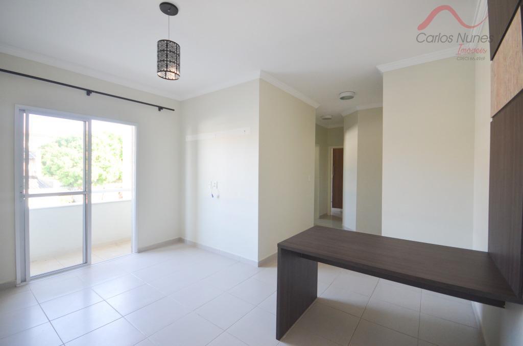 Apartamento  Mobiliado residencial à venda, Parque São Luís, Taubaté.