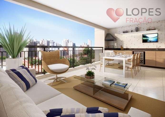 Apartamentos à venda no Tatuapé, 135m² com conforto e qualidade de vida