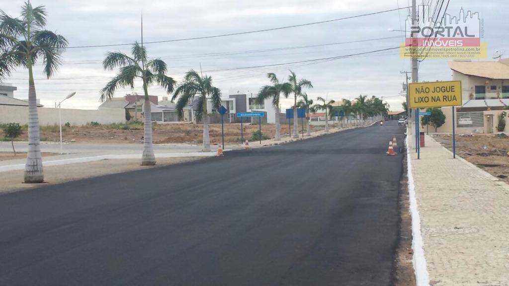 Terreno residencial à venda, Condomínio Portal das Águas, Petrolina.