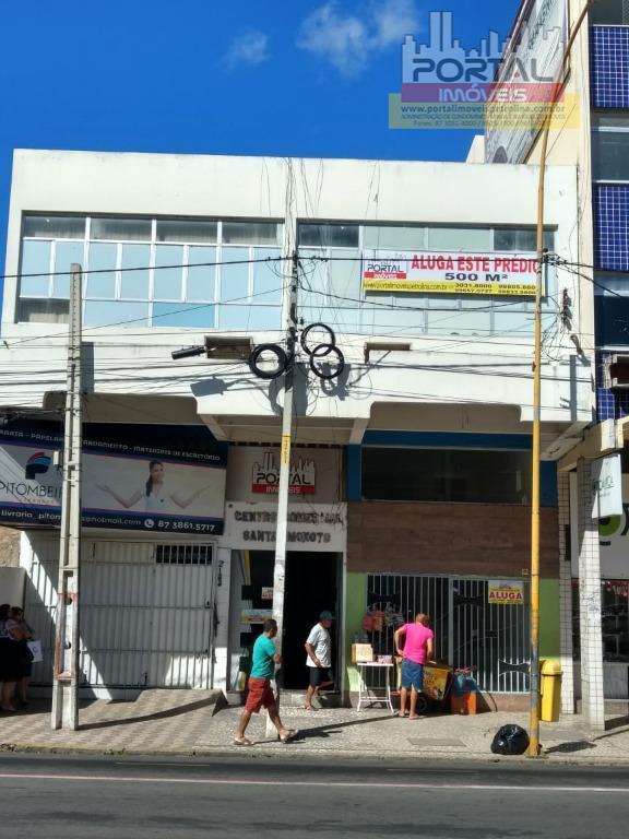 Prédio comercial para locação, Centro, Petrolina.