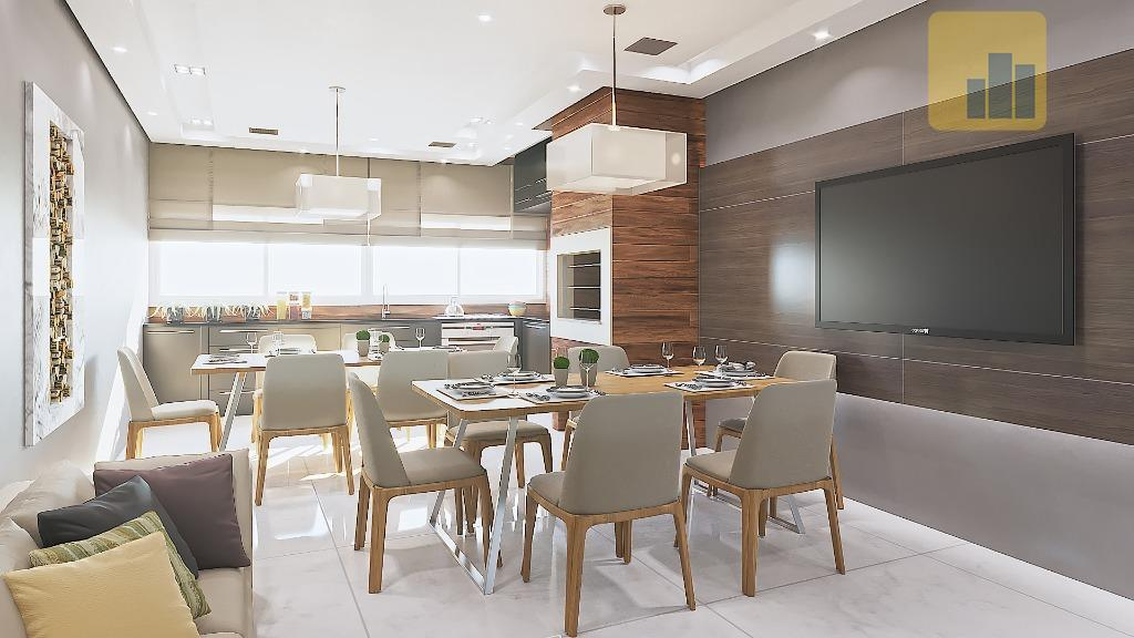 pré-lançamento - residencial mariscalapartamento de 02 dormitórios com suíte e área total de 111,59 m² :-...