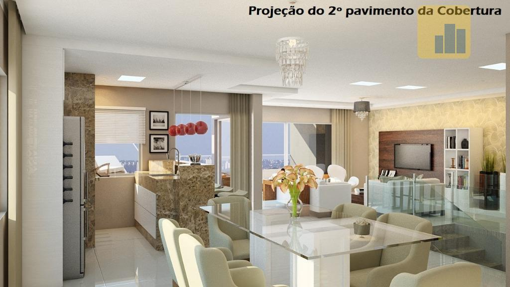 Cobertura residencial à venda, Centro, Não-Me-Toque.