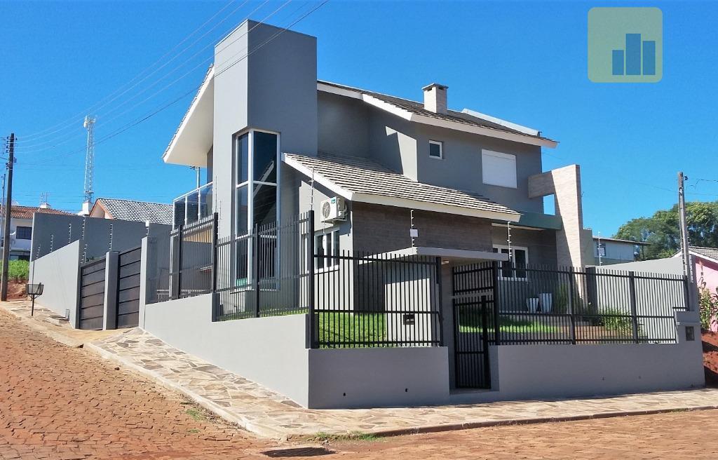 Casa com 3 dormitórios à venda, 199 m² por R$ 720.000,00 - Arlindo Hermes - Não-Me-Toque/RS