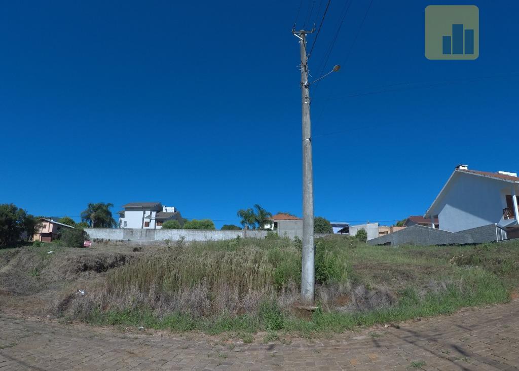 Excelente Terreno Residencial, com 463,73 m², localizado no Bairro Ipiranga, Não-Me-Toque RS