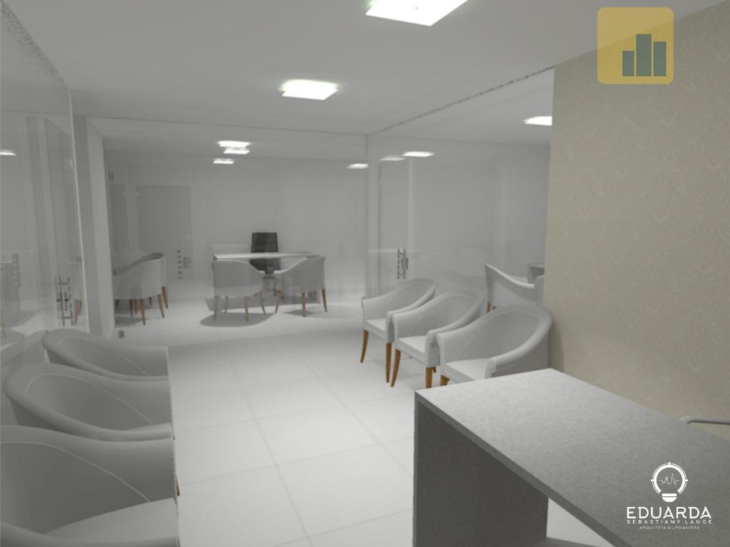 Sala para alugar, 75 m² por R$ 900/mês - Centro - Não-Me-Toque/RS