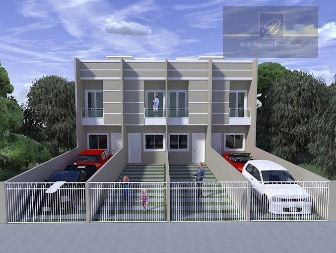 Sobrado  residencial à venda, Adhemar Garcia, Joinville.