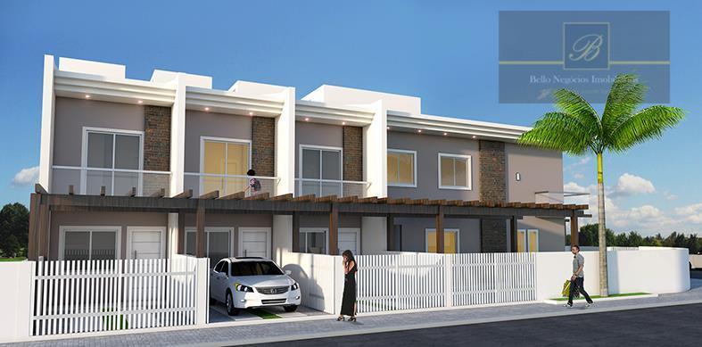 Sobrado com 2 dormitórios à venda, 60 m² por R$ 189.000 - Costa e Silva - Joinville/SC