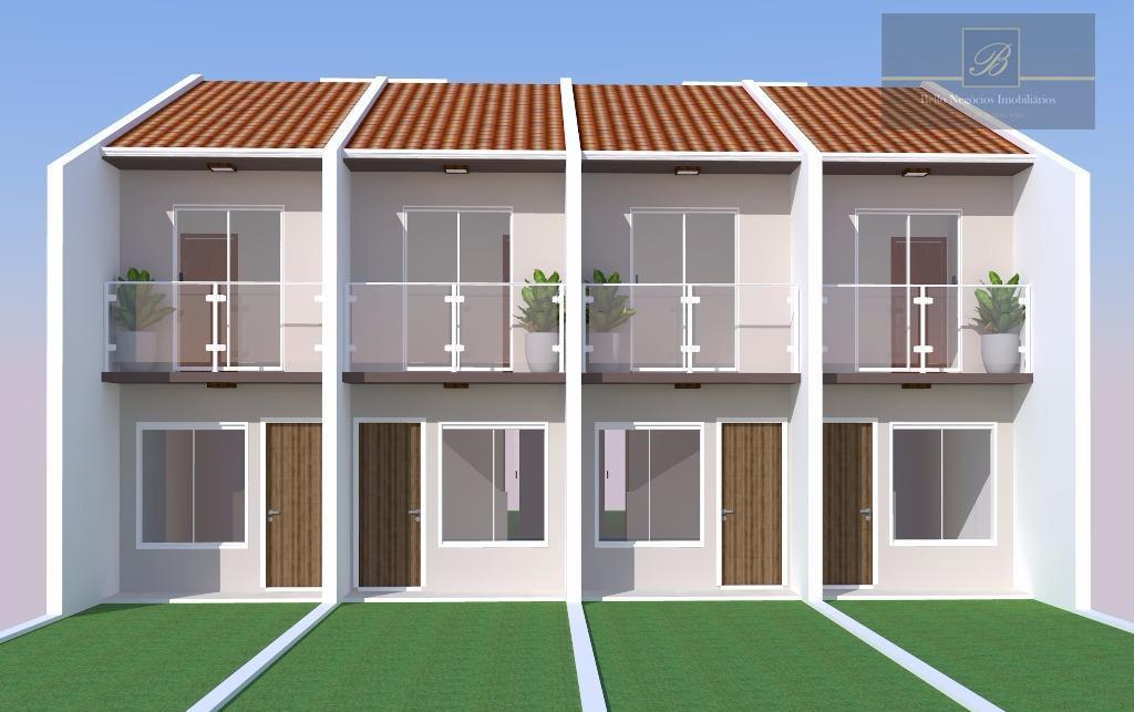 Sobrado residencial à venda, Vila Nova, Joinville - SO0308.