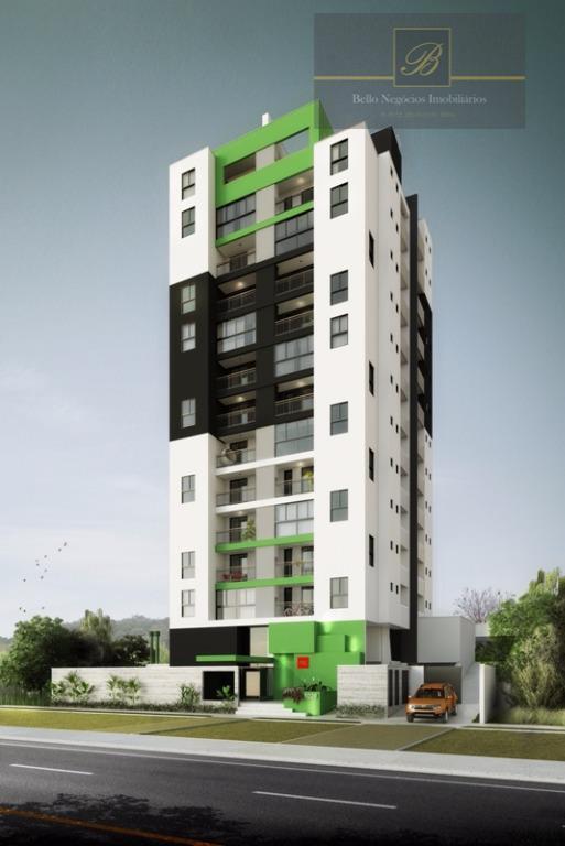 Apartamento residencial à venda, São Marcos, Joinville.