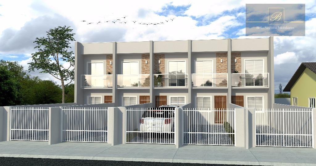 Sobrado residencial à venda, Vila Nova, Joinville.