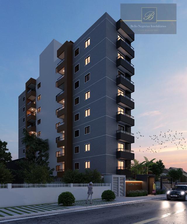 Apartamento com 3 dormitórios à venda, 92 m² por R$ 472.952 - Saguaçu - Joinville/SC