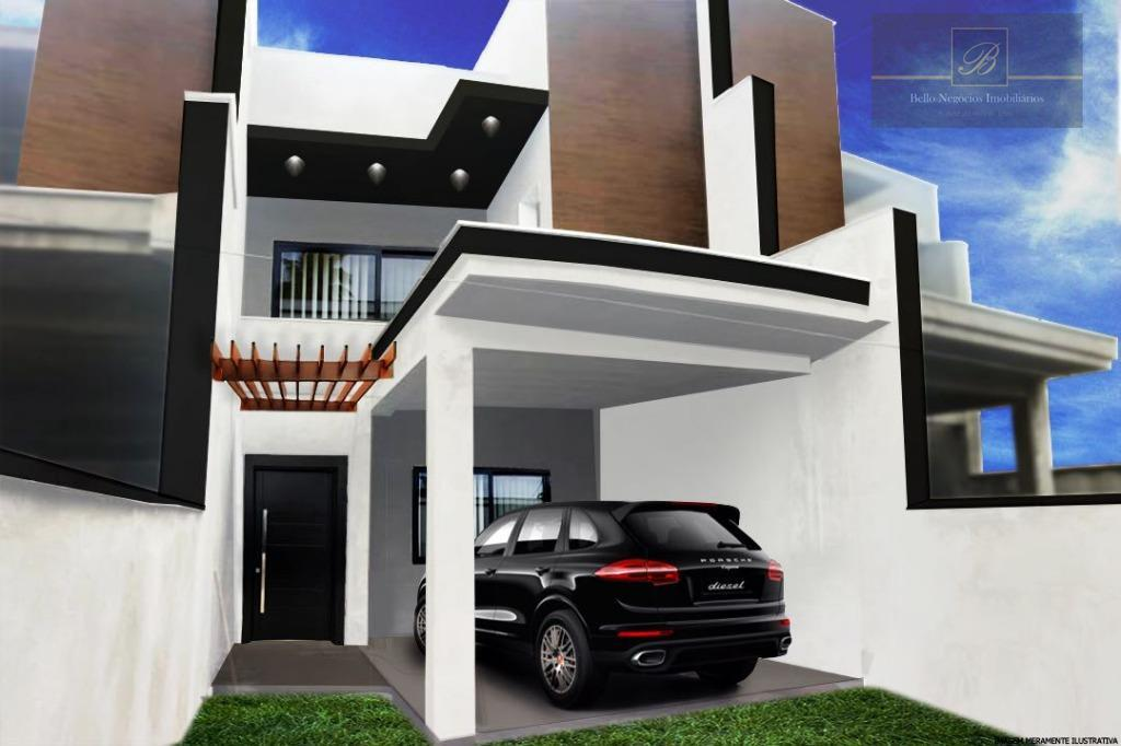 Sobrado residencial à venda, Nova Brasília, Joinville.