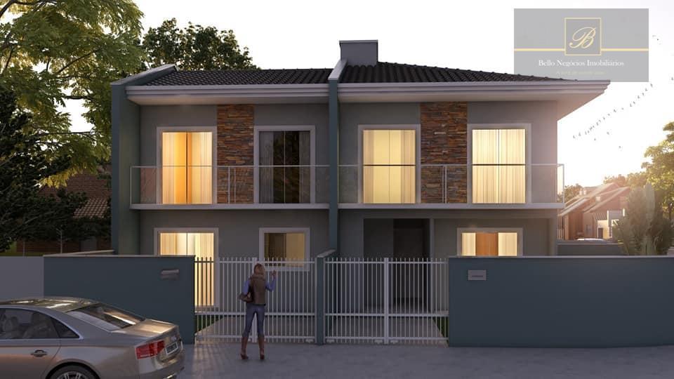 Sobrado residencial à venda, Boa Vista, Joinville.