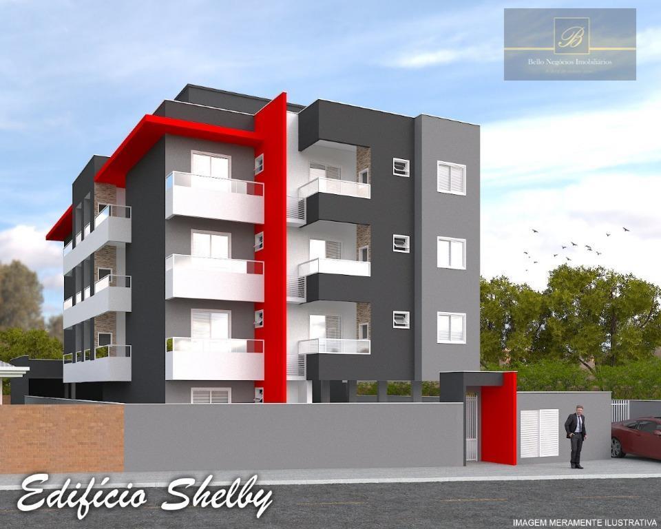 Apartamento com 2 dormitórios à venda, 53 m² por R$ 205.000 - Santo Antônio - Joinville/SC