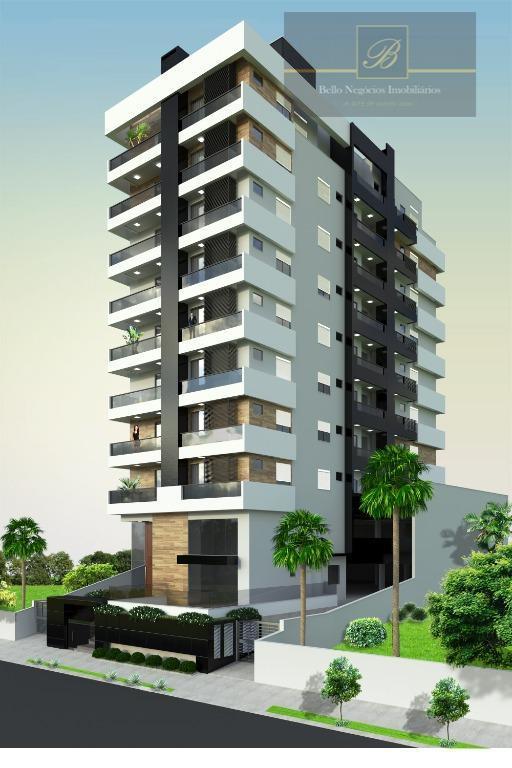 Apartamento com 3 dormitórios à venda, 95 m² por R$ 417.796 - Costa e Silva - Joinville/SC