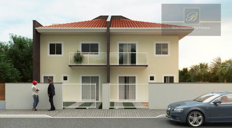 Sobrado com 2 dormitórios à venda, 61 m² por R$ 220.000 - Jardim Iririú - Joinville/SC