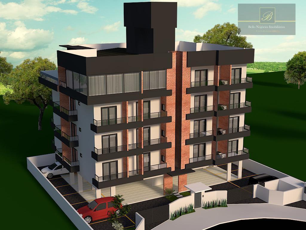 Cobertura com 3 dormitórios à venda, 153 m² por R$ 798.000 - Glória - Joinville/SC