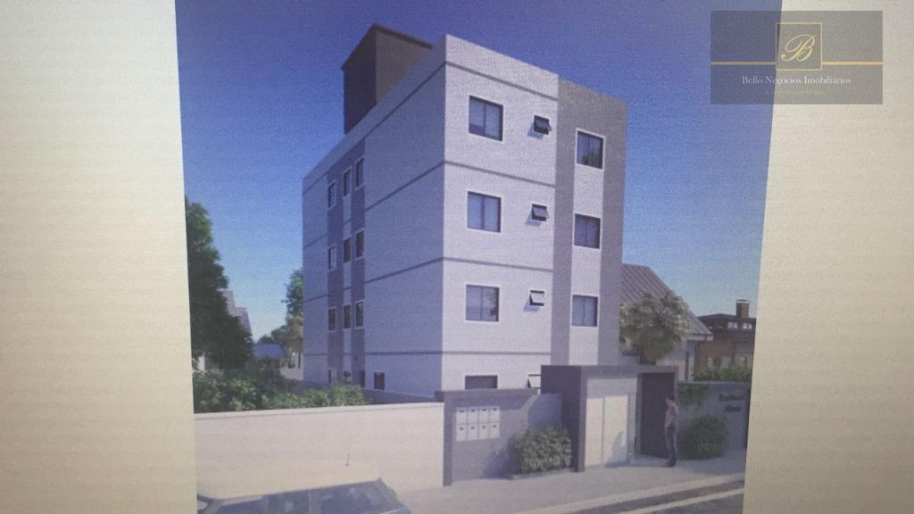 Apartamento com 2 dormitórios à venda, 51 m² por R$ 165.000 - Boa Vista - Joinville/SC