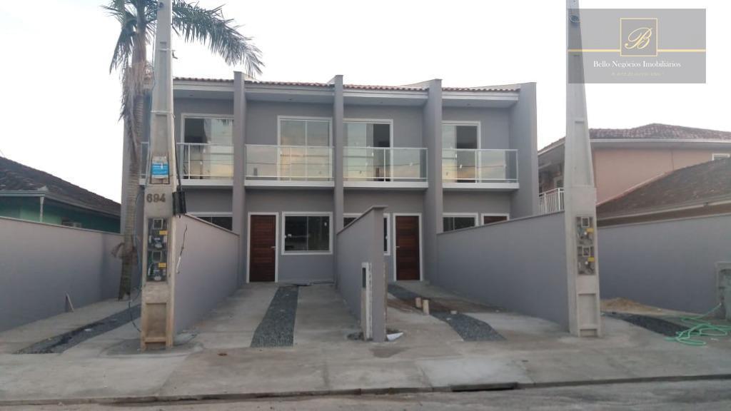 Sobrado com 2 dormitórios à venda, 68 m² por R$ 205.000 - Aventureiro - Joinville/SC