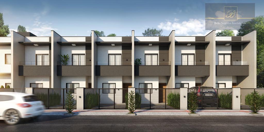 Sobrado com 2 dormitórios à venda, 71 m² por R$ 195.000 - Jardim Iririú - Joinville/SC