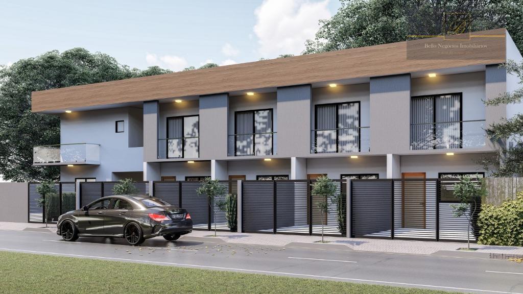 Sobrado com 2 dormitórios à venda, 69 m² por R$ 215.000 - Aventureiro - Joinville/SC