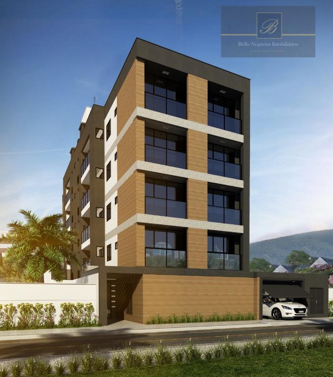 Apartamento com 1 dormitório à venda, 69 m² por R$ 254.856 - Costa e Silva - Joinville/SC