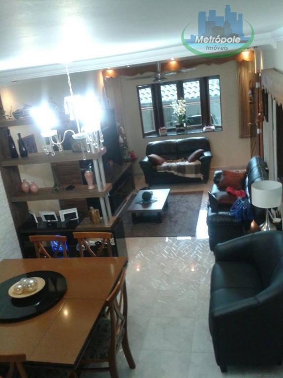 Sobrado de 3 dormitórios em Vila Nossa Senhora De Fátima, Guarulhos - SP