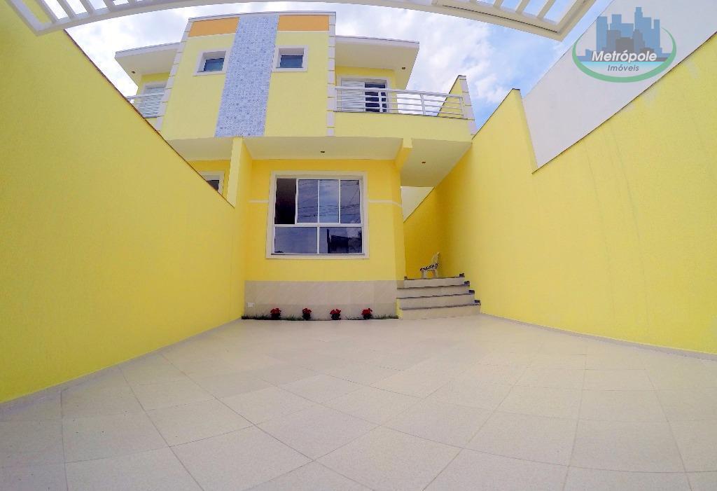 Sobrado residencial à venda, Cidade Martins, Guarulhos - SO0098.