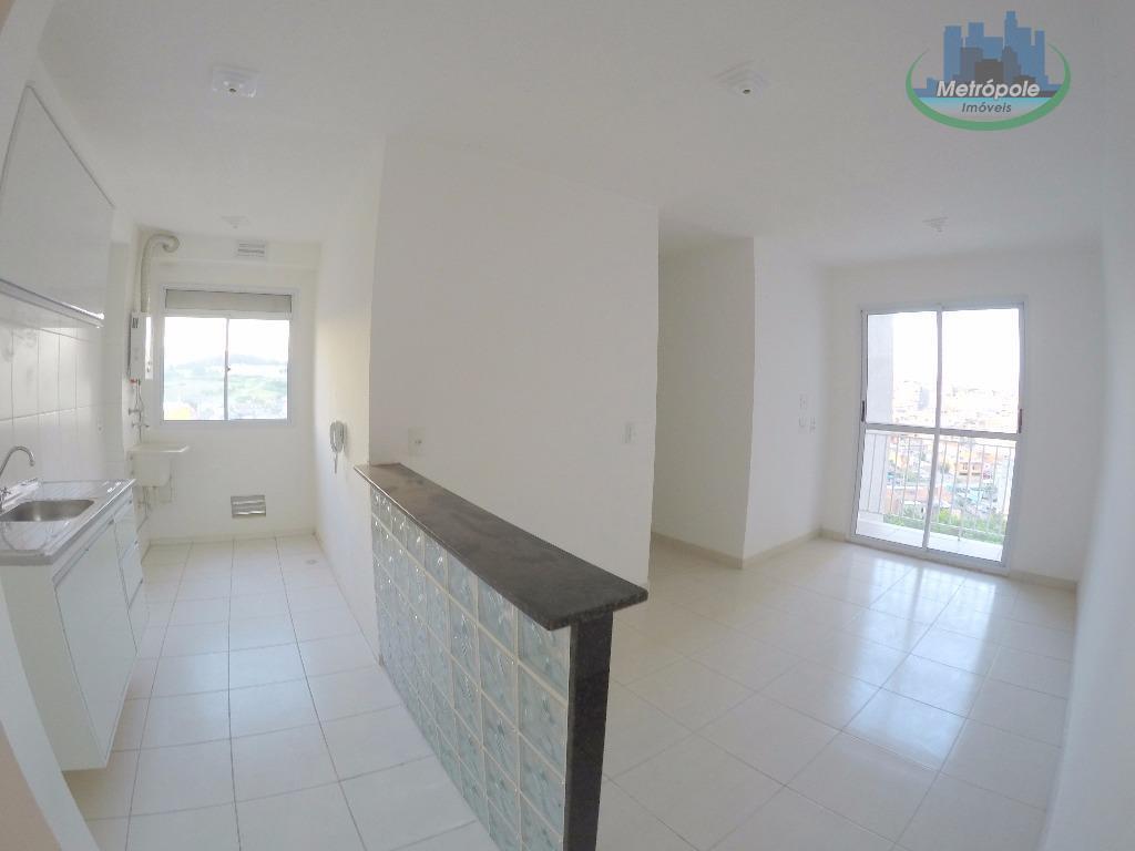 Apartamento residencial para locação, Jardim Bela Vista, Guarulhos - AP0179.