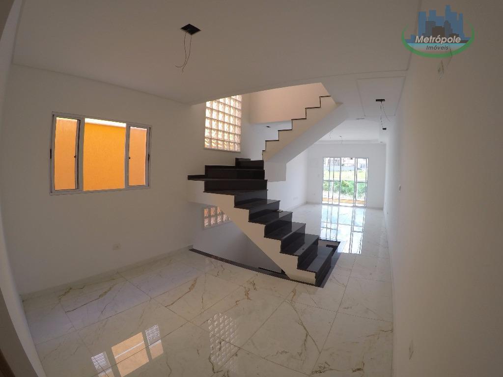 Sobrado residencial à venda, Jardim Paraventi, Guarulhos - SO0139.