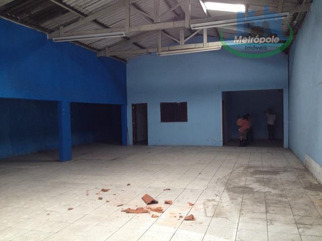 Salão  comercial para locação, Vila Flórida, Guarulhos.