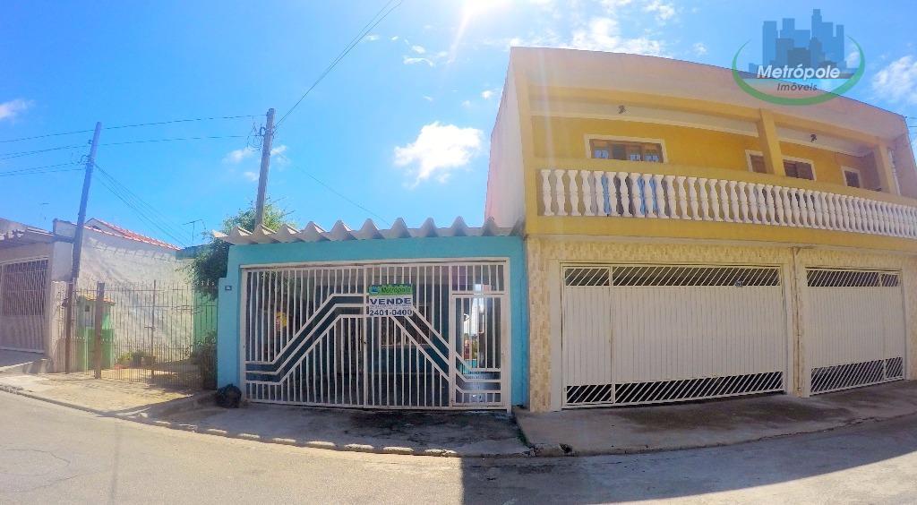 Casa residencial à venda, Jardim Bela Vista, Guarulhos - CA0407.