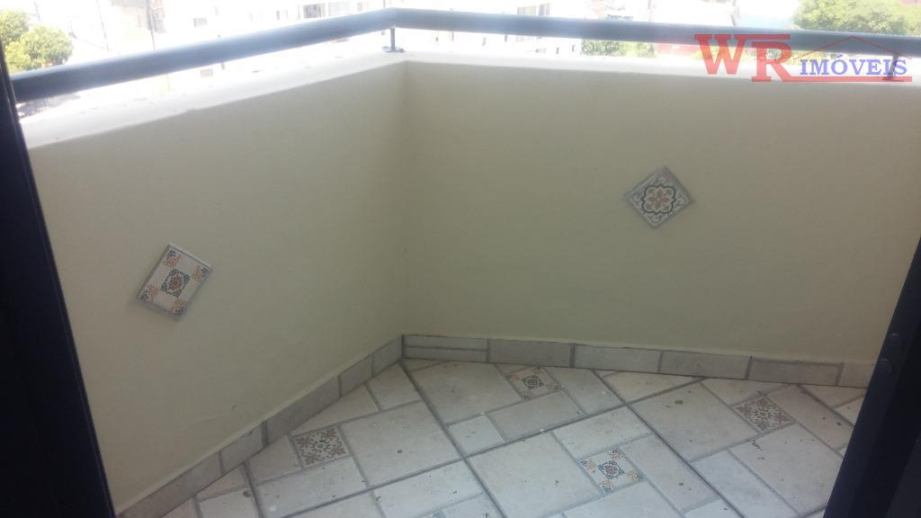 apartamento residencial para locação centro em são bernardo do campo.au 48 m², 1 dormitório, sala com...