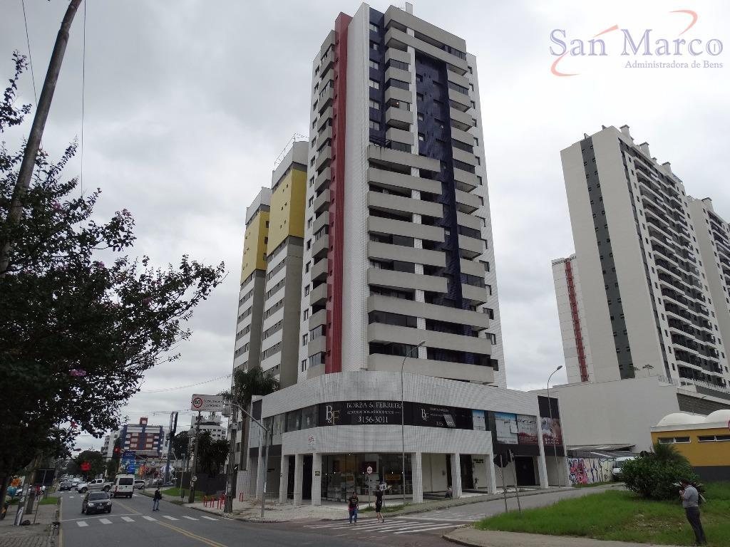 Apartamento  1dorm para locação, Cabral, Curitiba.