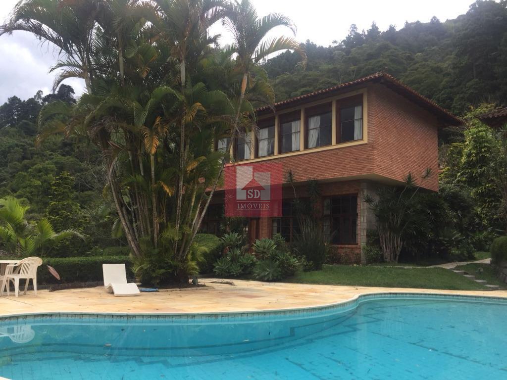 Casa residencial à venda, Taumaturgo, Teresópolis.