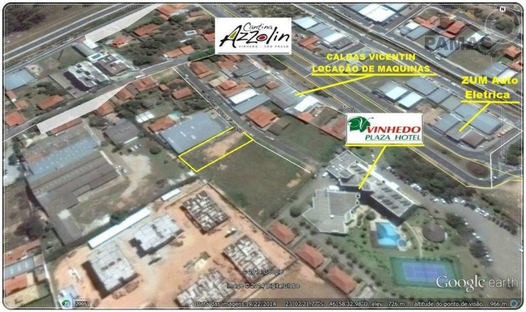 Terreno residencial à venda, Pinheirinho, Vinhedo.