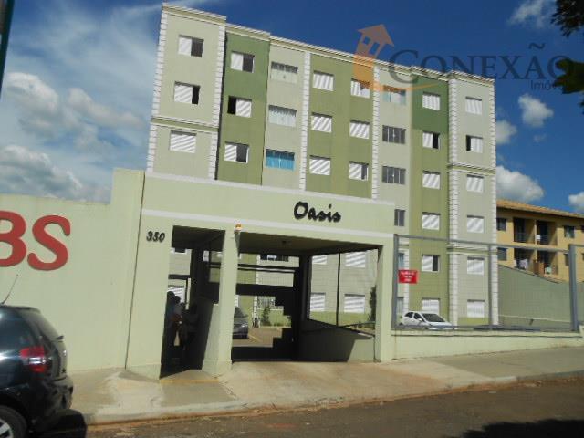 Apartamento residencial para locação, Jardim Santa Paula, São Carlos.