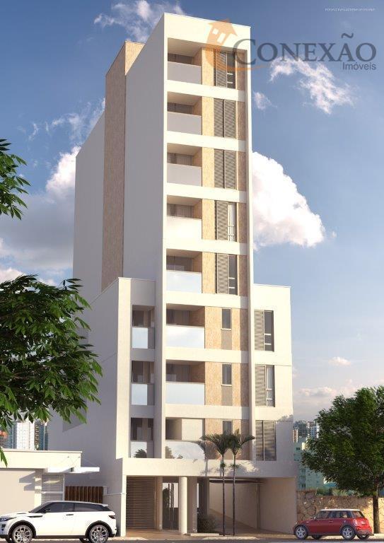 Apartamento com 1 dormitório para alugar, 45 m² por R$ 1.600/mês - Centro - São Carlos/SP