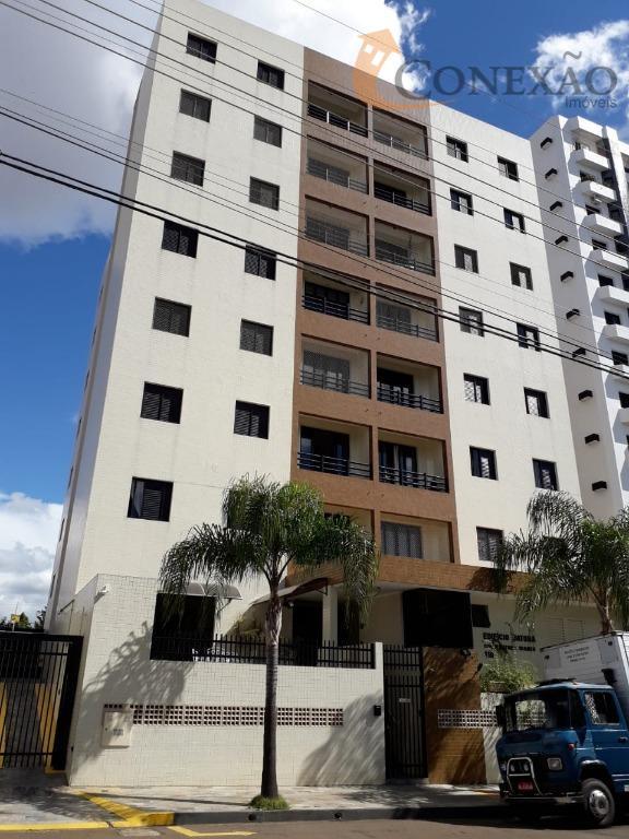 Apartamento com 2 dormitórios à venda, 65 m² por R$ 480.000 - Centro - São Carlos/SP