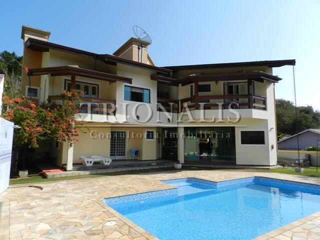 Casa residencial à venda, Condomínio Fechado, Atibaia - CA1078.