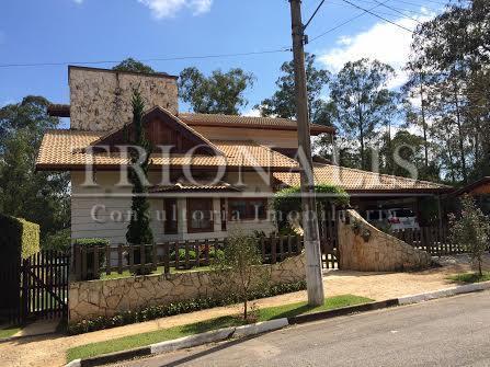 Casa residencial à venda, Condomínio Shambala I, Atibaia - CA1432.